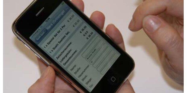 IPhone wird zum Kreditkartenlesegerät