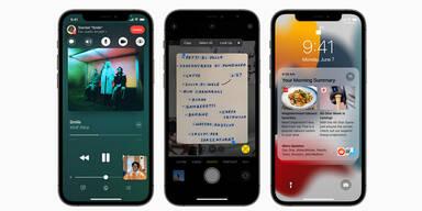 iOS 15: Das sind die neuen Top-Funktionen für iPhones