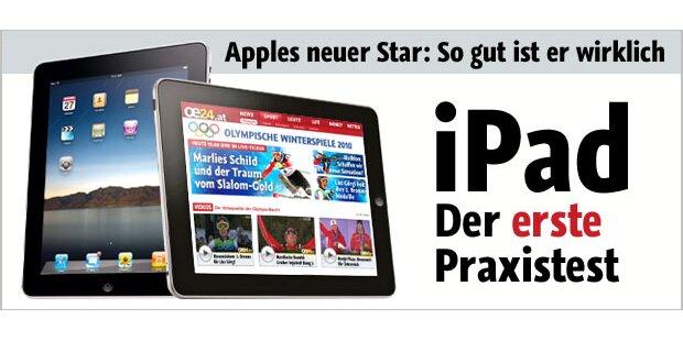 Das iPad im ersten Praxis-Test