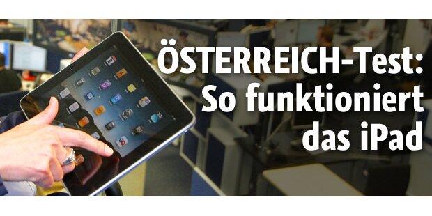 Das iPad im großen ÖSTERREICH-Test