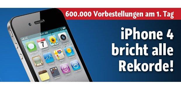 iPhone 4 schlägt ein wie eine Bombe