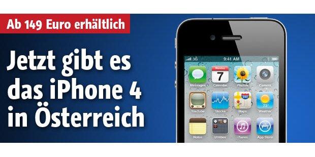 iPhone4-Verkauf in Österreich gestartet
