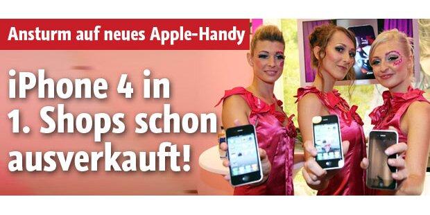 iPhone4 in ersten Shops schon ausverkauft