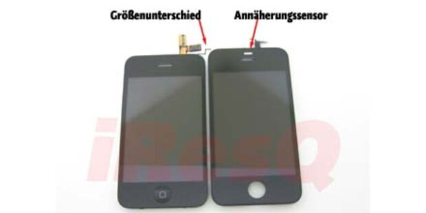 IPhone 4G soll größeres Display bekommen