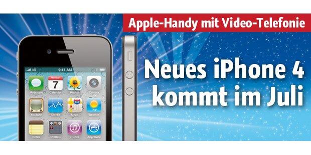 Neues iPhone 4 kommt im Juli nach Ö