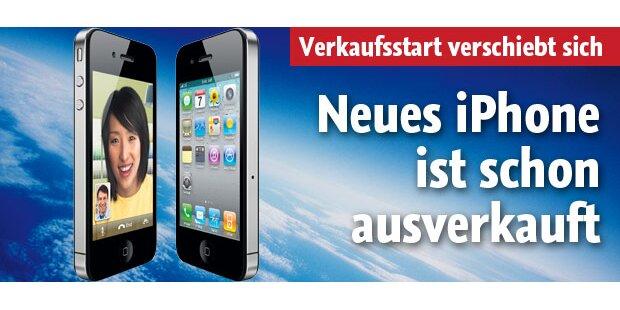 Neues iPhone ist schon ausverkauft