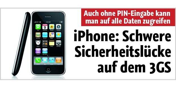 Schwere Sicherheitslücke auf dem iPhone