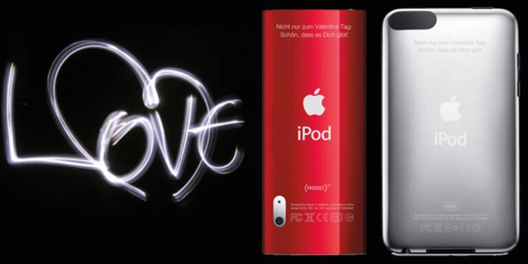 iPod-sche Ideen zum Valentinstag