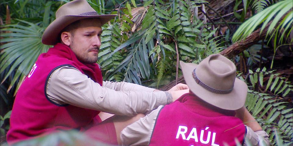 Ich bin ein Star holt mich hier raus - Marco Cerullo (l.) und Raúl Richter.