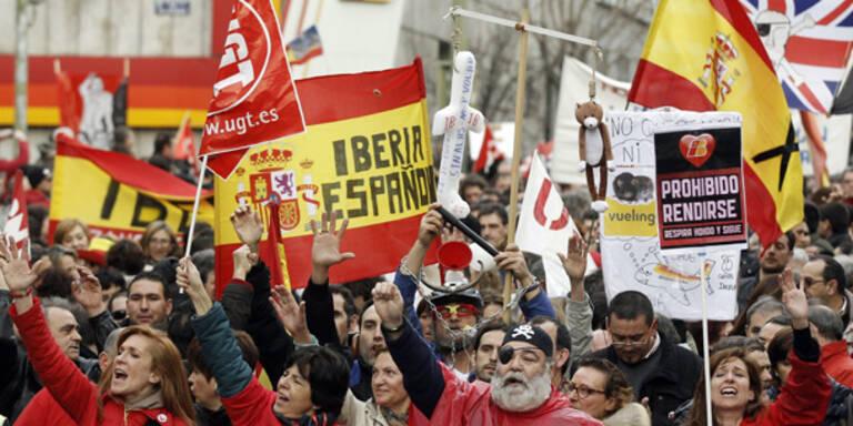 Arbeitskonflikt bei Iberia beigelegt