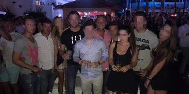 Strache & Gudenus einen Tag nach dem Ibiza-Video