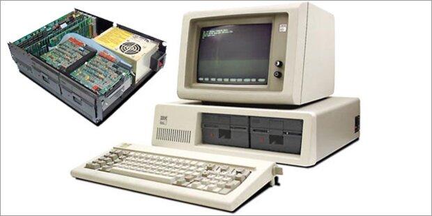 Vor 30 Jahren stellte IBM ersten PC  vor