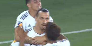 Ibrahimovic-Gala in Los-Angeles-Derby