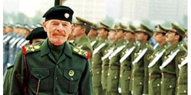 Saddams Stellvertreter ist nur knapp entwischt