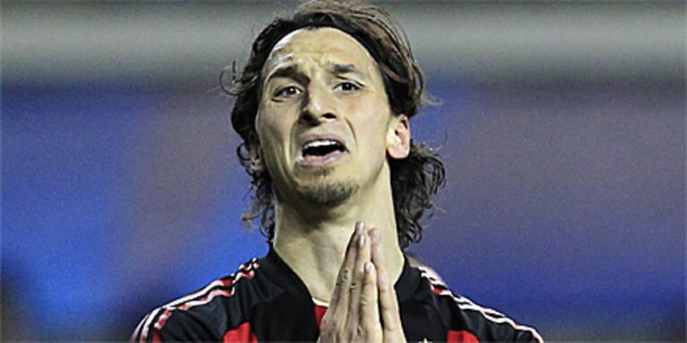 3 Spiele Sperre für Ibrahimovic