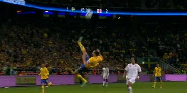 Traumtor von Schweden Star Ibrahimovic