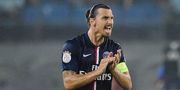 Ibrahimovic fehlt gegen Barcelona