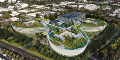 """So gigantisch wird die """"iCar""""-Fabrik"""