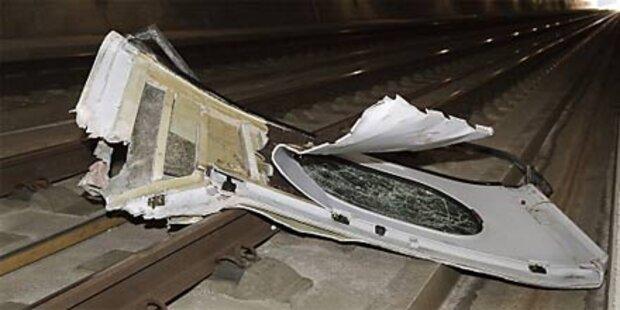 ICE verlor Tür: Gleis 10 Stunden gesperrt