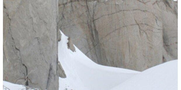 Eiskletterer stürzte 150 Meter in den Tod