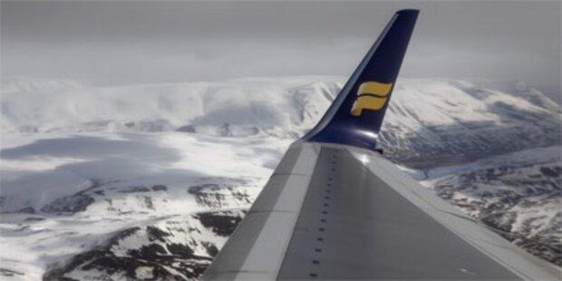 Flugverkehr in Island wieder frei