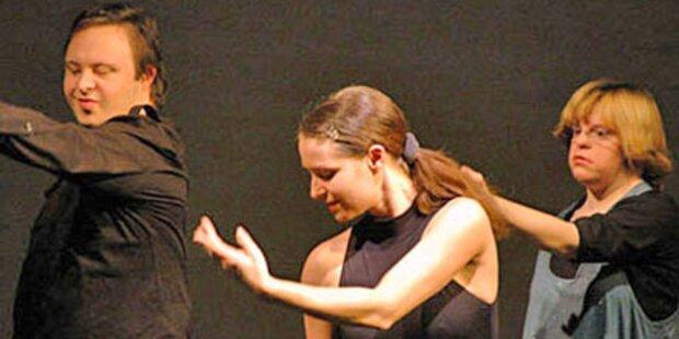 Behinderte tanzen gegen Vorurteile