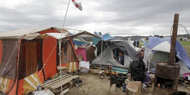 Idomeni: Horror-Lager wird geräumt