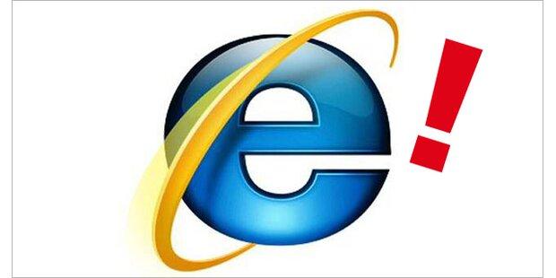 Gefährliche Lücke im Internet Explorer