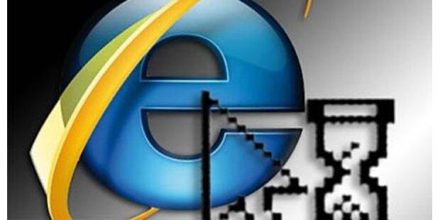 Microsoft schließt die Lücke im IE