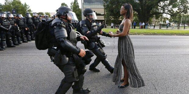 Junge Amerikanerin wird zur Ikone der US-Proteste
