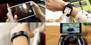 Sony Xperia Z3 und SmartWatch 3