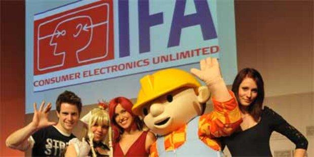 IT-Messe IFA strotzt vor Optimismus