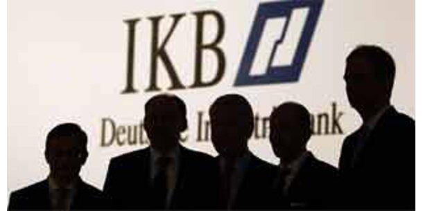 IKB-Krise zieht staatliche Bankengruppe ins Minus