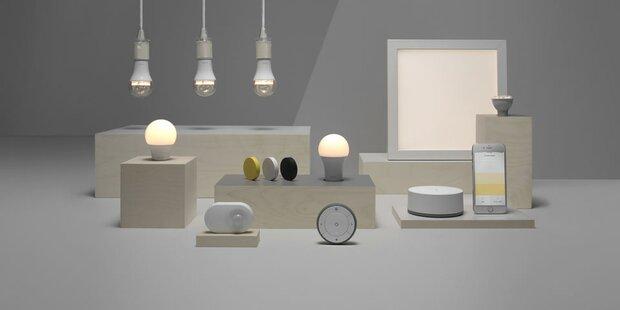 Ikeas smarte Lampen ab sofort in Österreich