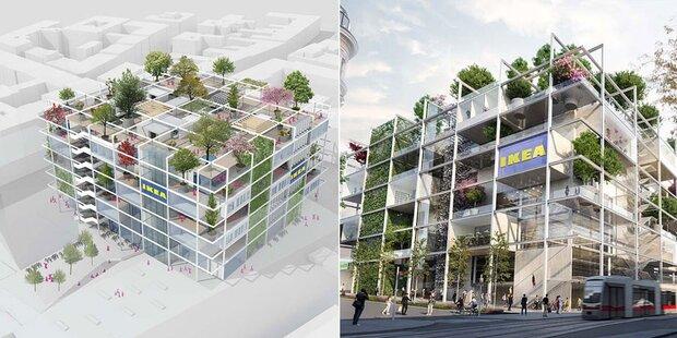 City-Ikea inklusive Hotel und Rooftop für alle