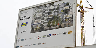Bau des Wiener City-Ikea gestartet