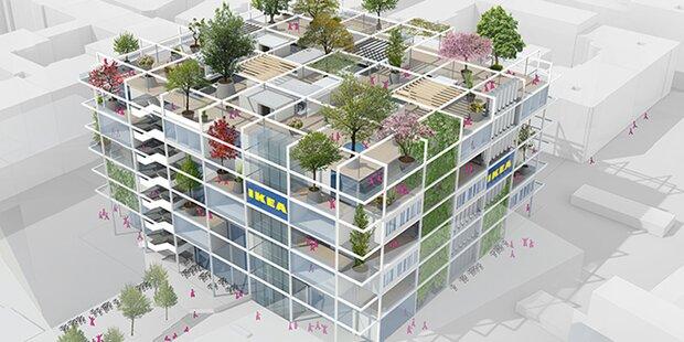 So soll der Ikea am Westbahnhof werden