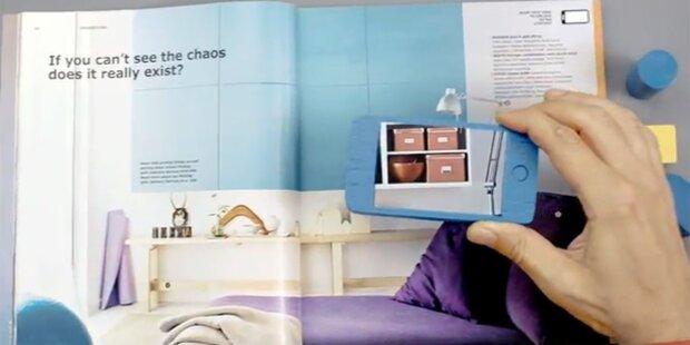 Ikea-Katalog setzt auf Augmented Reality