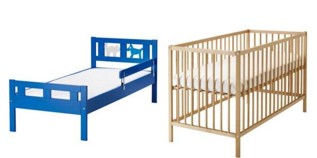 IKEA ruft zwei Kinderbetten zurück