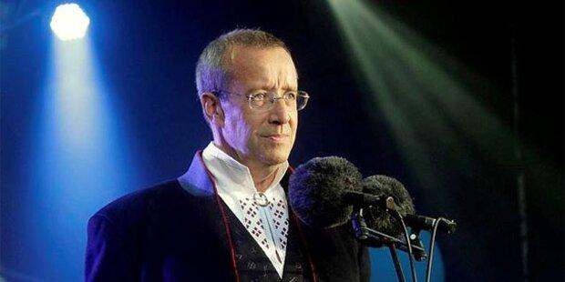 Estlands Präsident Ilves wiedergewählt