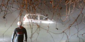 Führerschein-Neuling schlief am Steuer ein: Alko-Lenker (18) landete mit PKW im Fluss