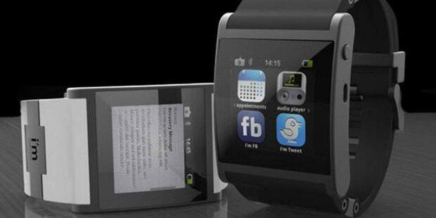 Auch Microsoft arbeitet an einer Smart-Watch
