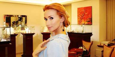 Karina Sarkissova: Opernballschmuck von Mazbani