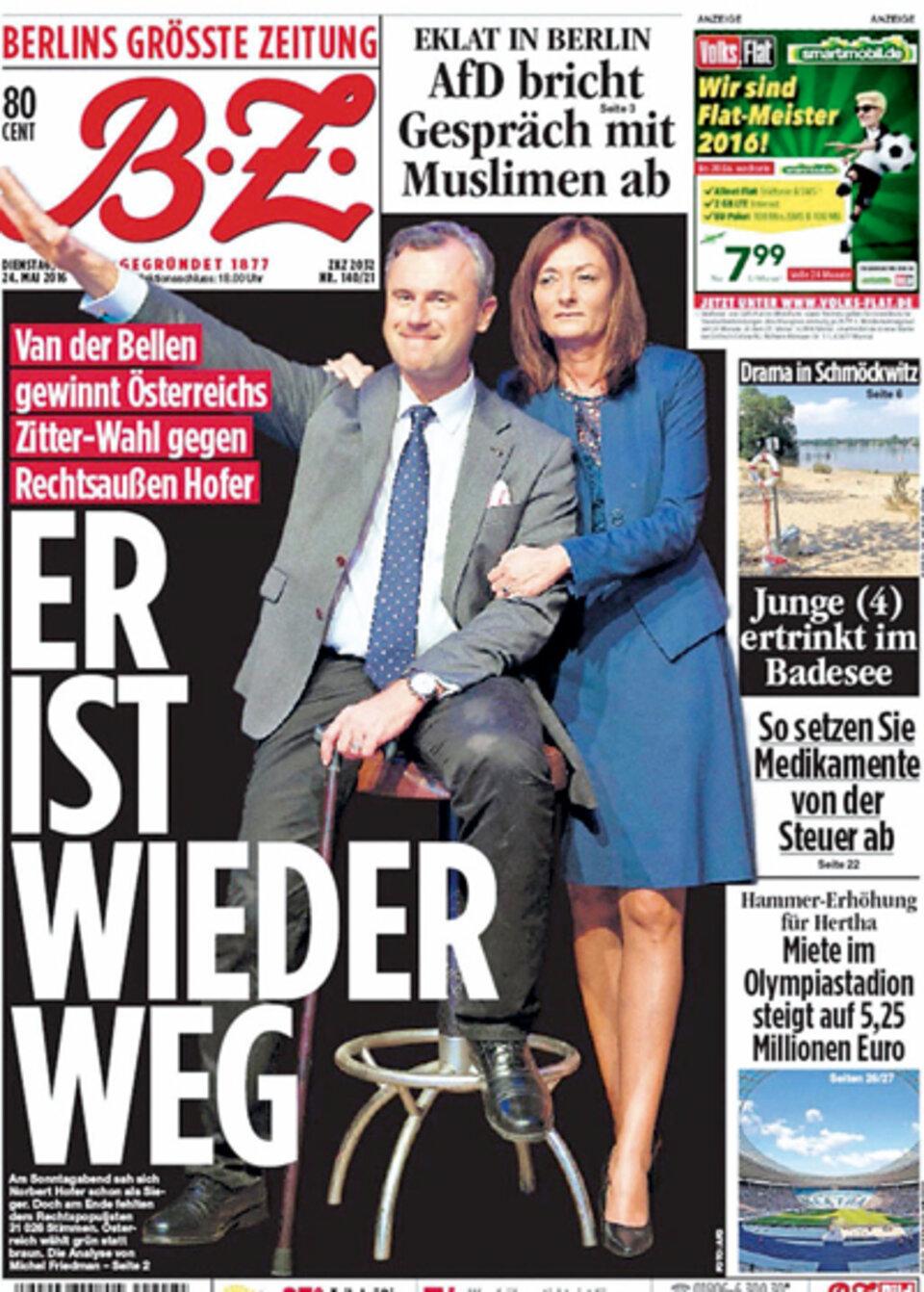 Berliner Zeitung Vergleicht Norbert Hofer Mit Adolf Hitler