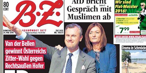 Berliner Zeitung vergleicht Hofer mit Hitler