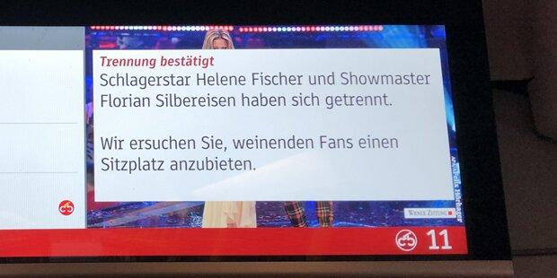 Fischer-Liebes-Aus: Wiener Linien sorgen für Lacher
