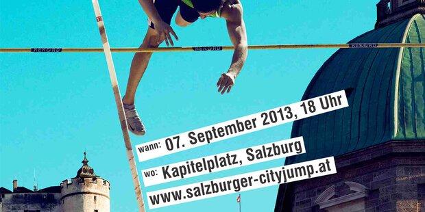 Salzburger Cityjump - das erste Mal!