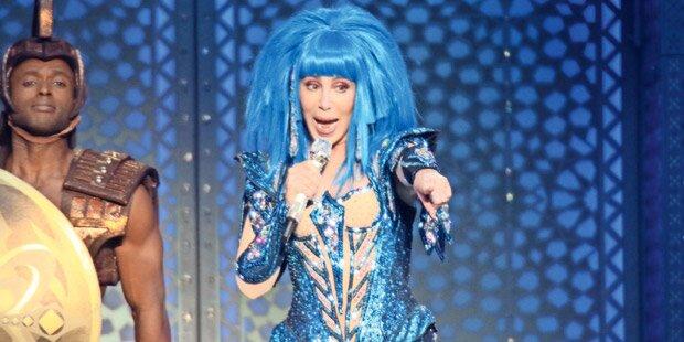 Cher: Diven-Alarm bei Wien-Gig