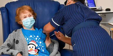 138.000 Briten wurden bereits geimpft