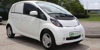 Mitsubishi i-MiEV startet als Fiskal Van